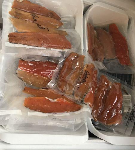 Sealed salmon